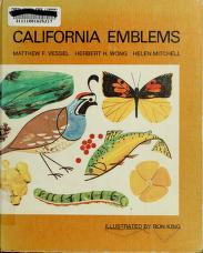 Cover of: California emblems | Matthew F. Vessel