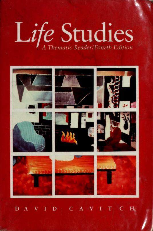 Life Studies by David Cavitch