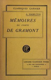 Cover of: Mémoires du comte de Grammont   Hamilton, Anthony, count