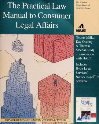 Cover of: PRACTICAL LAW MANUAL/CONSUMER (The Random House Personal Finance  Library) | Kay Ostberg