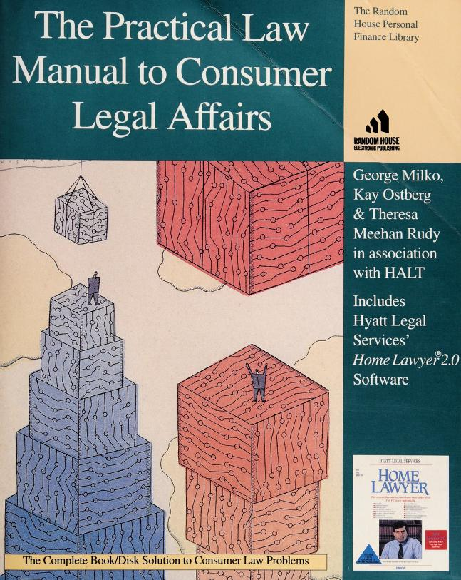 PRACTICAL LAW MANUAL/CONSUMER (The Random House Personal Finance  Library) by Kay Ostberg